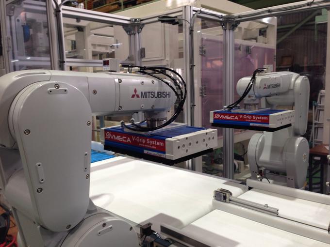 省力化機械 製品整列ロボット