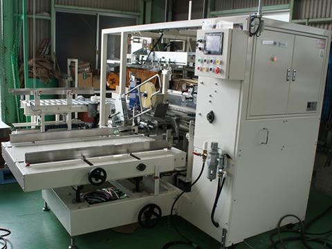 リトルフォーマー(テープ式・逆開きタイプ)全自動製函機 CFC-R10T